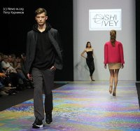 Бренд Shivey показ на Moscow Fashion Week