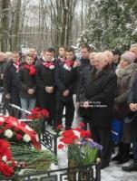 Игорь Нетто. 90-летие. Ваганьковское кладбище