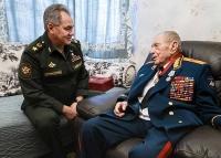 Министр обороны России вручил Маршалу Советского Союза Дмитрию Язову орден «За заслуги перед Отечеством» III степени