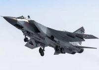Экипажи истребителей МиГ-31 ЦВО отработали перехват сверхзвуковой цели днем и ночью на Урале