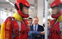 Посещение парашютного завода «Полёт»