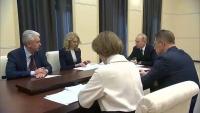 Совещание о мерах по борьбе с распространением коронавируса в России