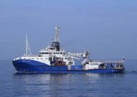 Морской буксир «Андрей Степанов» проходит ходовые испытания в акватории Чёрного моря