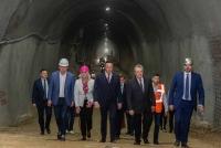 Завершена сбойка левого железнодорожного тоннеля, который прокладывают в Сербии московские метростроевцы