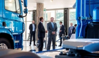 Король Виллем-Александр посетил DAF Trucks