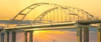 На Крымском мосту открыли грузовое железнодорожное движение
