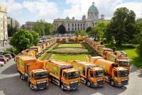 DAF Trucks поставила 44 автомобиля для городской коммунальной службы Белграда