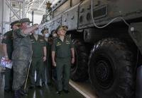 Министр обороны РФ генерал армии Сергей Шойгу проинспектировал Тейковское соединение РВСН