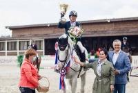 Ксения Хайрулина стала абсолютной чемпионкой России по конкуру!