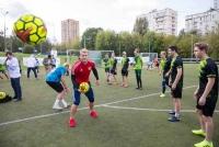 «Футбол – школа жизни» в детском доме «Каховские Ромашки»