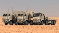 DAF получает большой заказ от вооруженных сил Бельгии