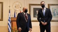 Михаил Мишустин награждён Золотой медалью почёта города Афин