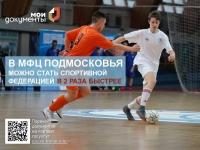 В Подмосковье получить статус спортивной федерации в МФЦ теперь можно в два раза быстрее