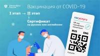 На Госуслугах доступны сертификаты о вакцинации на английском