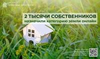 В Подмосковье 2 тысячи собственников земель назначили категорию земельного участка онлайн