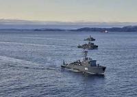 В Баренцевом море началось учение разнородных сил Северного флота по защите морских рубежей России в Арктике