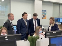 Подмосковный ЦУР посетила делегация из Белоруссии