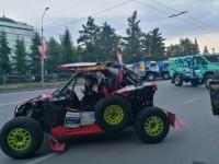 """""""Silk way rally"""" в Омске"""
