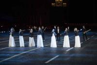 На Фестивале «Спасская башня» «Хор Турецкого» и арт-группа Soprano исполнили «Песни Победы» на четырёх языках