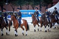 Рокеры, казаки и кавалеристы Великой Отечественной в программе Кавалерийского почётного эскорта
