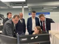 Делегация Пермского края и слушатели МГИМО посетили подмосковный ЦУР