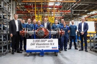 Инвестиции в развитие производства продолжатся DAF Trucks Фландрия: 3 000 000 осей за 50 лет